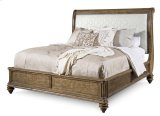 Pavilion Queen Upholstered Sleigh Bed Product Image