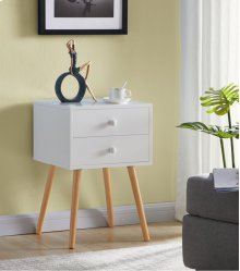 7085 White End Table