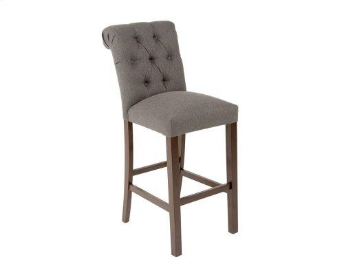 "Benson Upholstered Bar Chair 19""x26""x46"" [1/2"" Memory foam]"