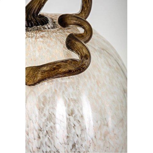 Extra Large Glass Pumpkin - Ast 2