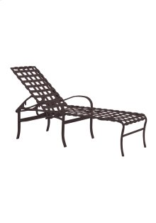 Palladian Strap Chaise Lounge