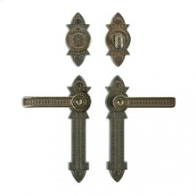 """Briggs Entry Set - 2 3/8"""" x 10"""" Silicon Bronze Brushed"""