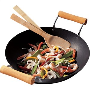 Flat Bottom Wok -
