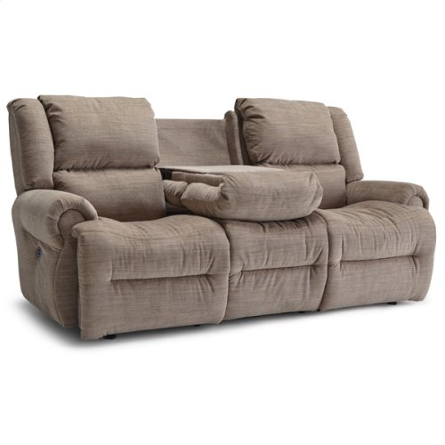 GENET COLL Power Tilt Headrest Space Saver Reclining Sofa