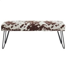 Angus Bench in Brown