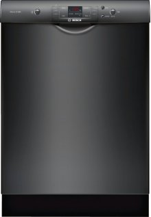 """24"""" Recessed Handle Dishwasher 300 Series- Black SHE33T56UC"""