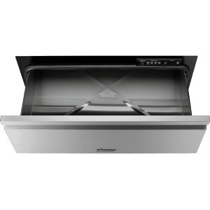 "DacorHeritage 30"" Flush Warming Drawer, Silver Stainless Steel"