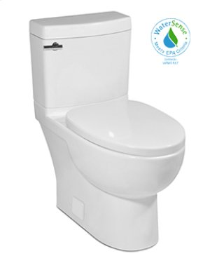 "Balsa MALIBU II Two-Piece Toilet, 10"" Rough-in 1.28gpf, Compact Elongated"