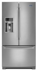 Maytag® 36- Inch Wide French Door Refrigerator with Dual Cool® Evaporators - 27 Cu. Ft. Product Image