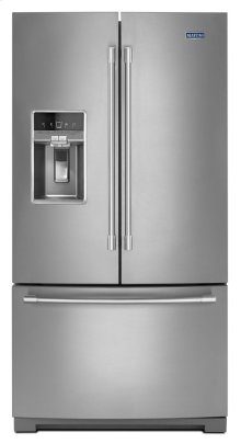 36- Inch Wide French Door Refrigerator with Dual Cool® Evaporators - 27 Cu. Ft.