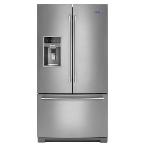 MaytagHERITAGE36- Inch Wide French Door Refrigerator with Dual Cool(R) Evaporators - 27 Cu. Ft.