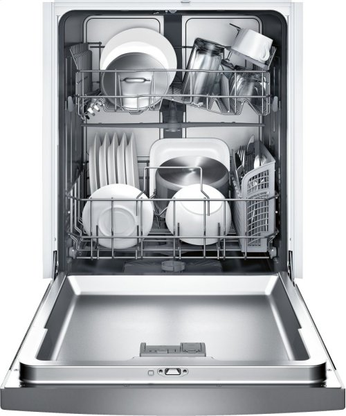 """24"""" Recessed Handle Dishwasher 300 Series- Stainless steel SHE33T55UC"""