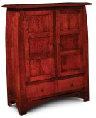 Aspen Cabinet with Wood Doors and Inlay Product Image