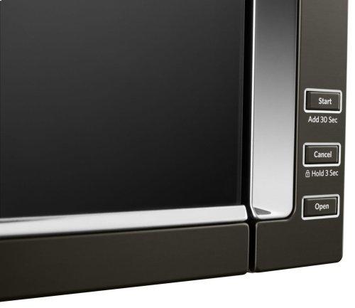 1000-Watt Low Profile Microwave Hood Combination - Black Stainless