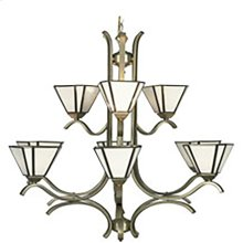 Satin - 9 Light Chandelier