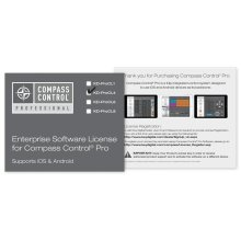Enterprise Software License for Compass Control®, supports iOS and Android - Master Pack of 4 Units
