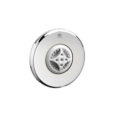 Round Water Saving Multifunction Body Spray - Polished Chrome