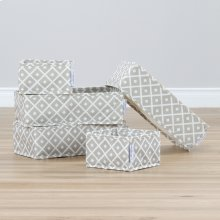Drawer organizers - Beige, Diamond Print