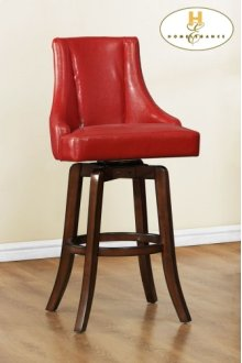 Counter Height Chair, Red