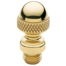 Polished Brass Acorn Finial