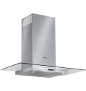 36' Glass Canopy Chimney Hood Benchmark Series - Stainless Steel
