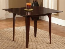 Montreal Dining Table 39x39 in Walnut