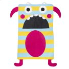 Teal Stripe Monster Laundry Bag Product Image