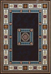 Antiquities Oriental Border Navy Rugs