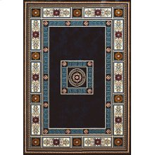 Antiquities Oriental Border Navy Rugs