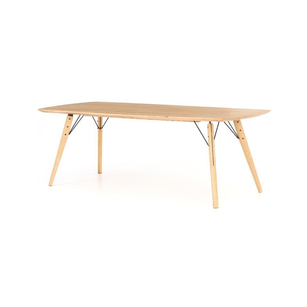 Natural Oak Finish Thoreau Dining Table