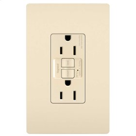 Tamper-Resistant 15A Outlet Branch Circuit AFCI Receptacle, Light Almond