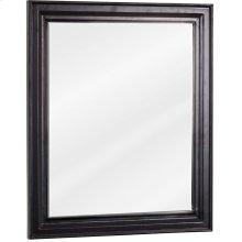 "20"" x 24"" Beveled glass mirrow with Black finish."