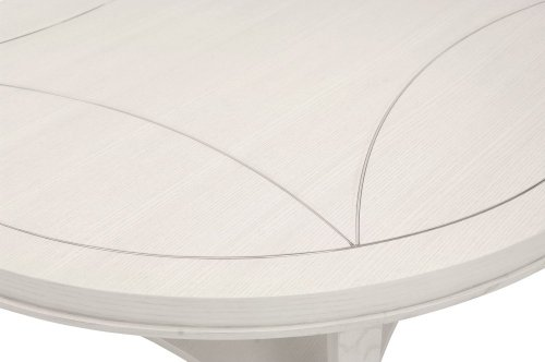 Criteria Round Cocktail Table in Criteria Pale Ivory (363)