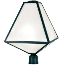 Brian Patrick Flynn for Crystorama Glacier Outdoor 3 Light Post
