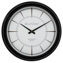 Less is More Contemporary Wall Clock