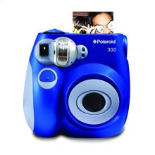 Polaroid Compact Instant Analog Camera PIC300BL, Blue