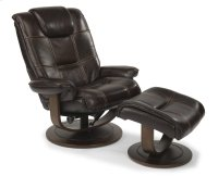 Spencer Leather Chair and Ottoman Product Image