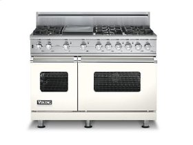 "48"" Custom Sealed Burner Self-Cleaning Range, Natural Gas, No Brass Accent"