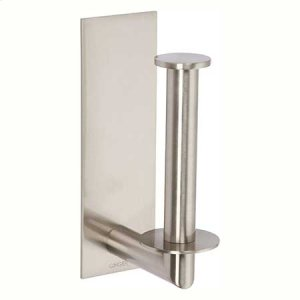Satin Nickel Spare Toilet Tissue Holder