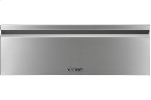 "Heritage 30"" Flush Warming Drawer, Stainless Steel"