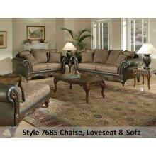 SanMarChocolate/Silas Raisin/Kent Fringe 7685FRS - Sofa