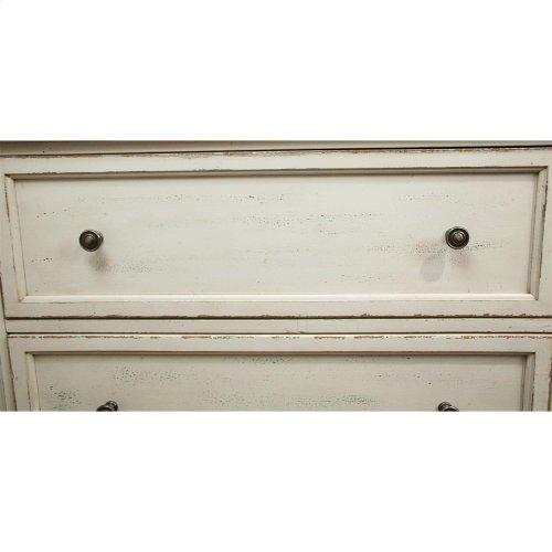 Huntleigh - Seven Drawer Dresser - Vintage White Finish