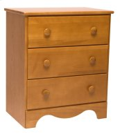 "Dover 3 Drawer Chest 25"" Wide"
