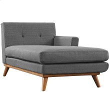 Engage Right-Facing Chaise in Gray