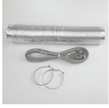 Electric Dryer Hook Up Kit with Venting
