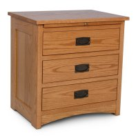 Prairie Mission Nightstand with Drawers Product Image