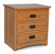 Prairie Mission Nightstand with Drawers