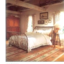 55 Jonas Ridge Sleigh Bed