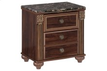B347 Two Drawer Nightstand