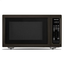 "KitchenAid® 21 3/4"" Countertop Microwave Oven with PrintShield Finish - 1200 Watt - Black Stainless"